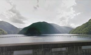 梓川ダム(奈川度ダム)