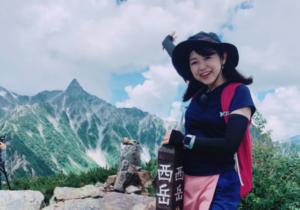 登山時の目黒ちゃん