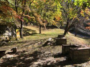 牛伏寺キャンプ場