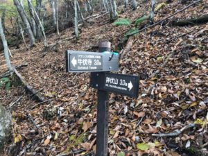 鉢伏山まで3.0㎞地点