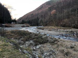 釣りや水遊びも楽しめる鎖川