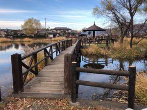 釣りができる橋エリア