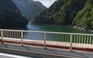 前川度の橋付近
