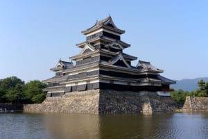 お城総選挙3位に輝いた国宝『松本城』