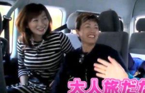 麗子先生と平沢幸子アナウンサー