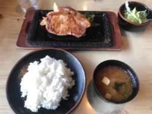 「生姜焼き定食(1,850円)」