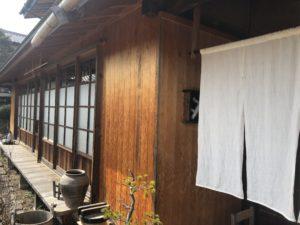 朝日村の蕎麦店「ふじもり」