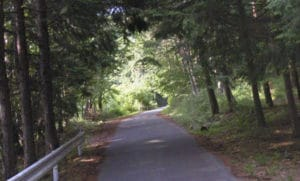 美鈴湖までの道中