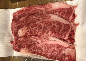 大信精肉のすき焼き肉