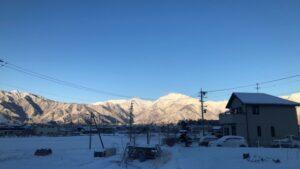 長野県の冬は寒い