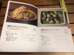 掲載されているレシピの数々