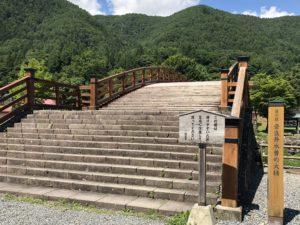 奈良井木曽の大橋 正面