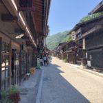 晩夏の奈良井宿
