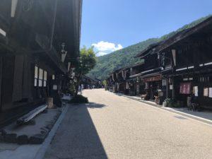 奈良井宿の通り