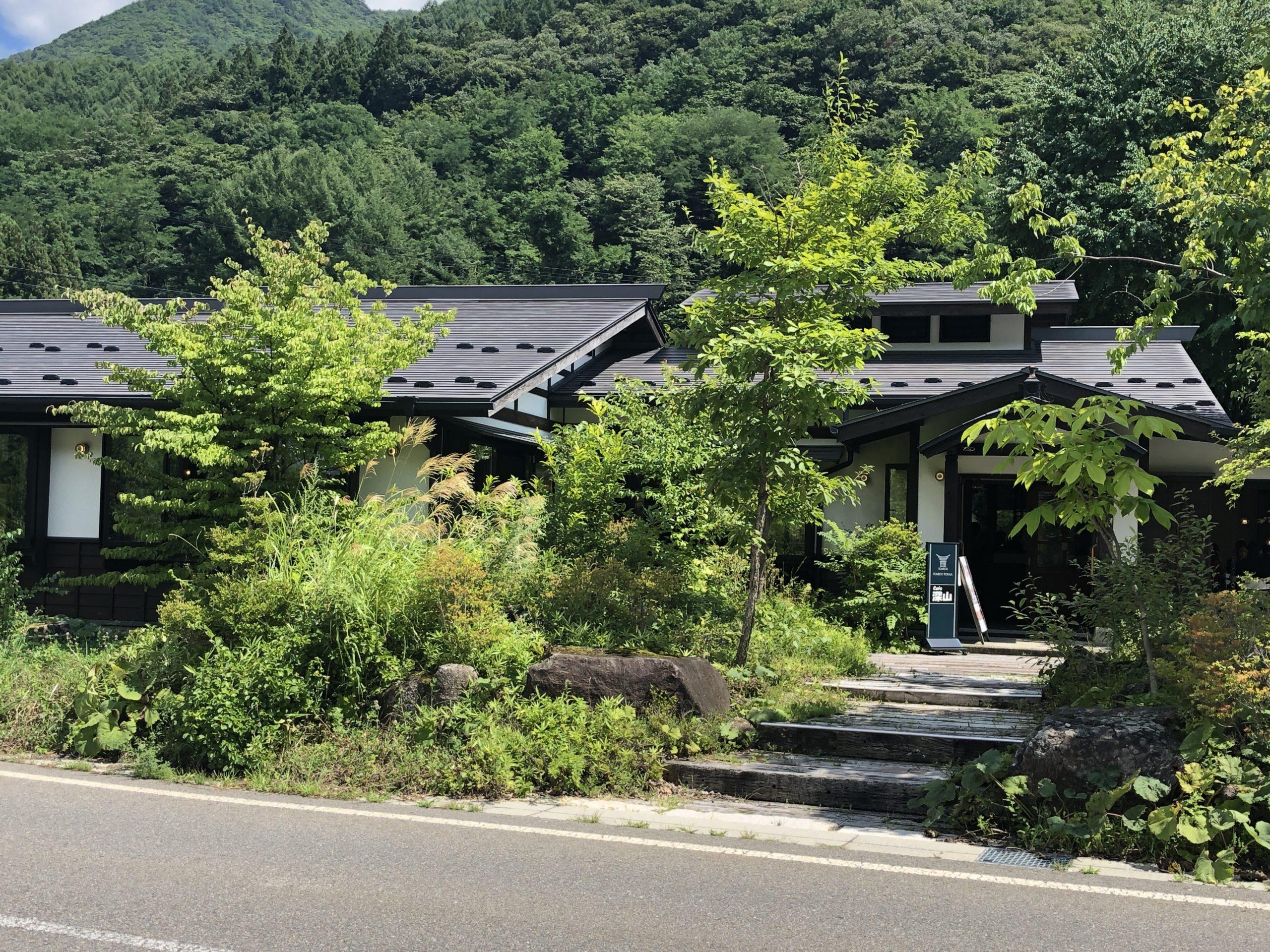 奈良井宿のカフェ「深山」で100年前のライスカレーを食らう