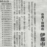 【長野県】県内19市の人口ランキング2019