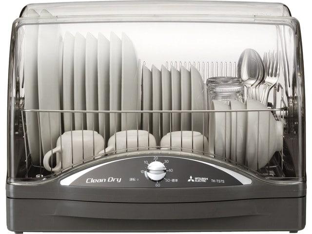 【レビュー】人生初の食器乾燥機「TK-TS7S-H(三菱)」の性能やいかに