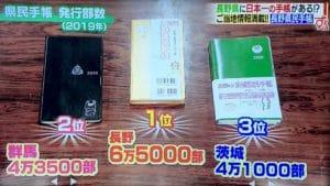 長野県民手帳は売上日本一