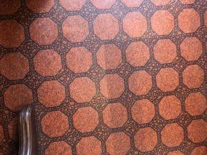レトロなカーペット