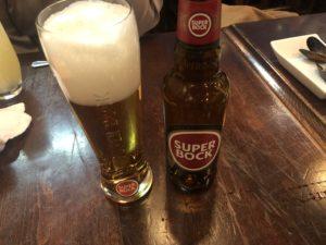ポルトガルの人気ビール「スーパーボック」
