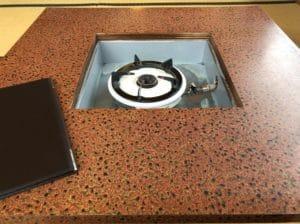レトロなテーブル
