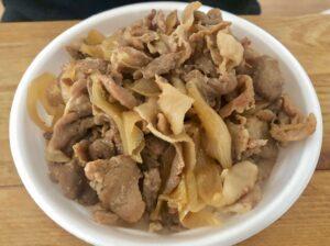 肉丼(テイクアウト)