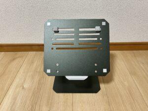 工匠藤井のノートパソコンスタンド正面