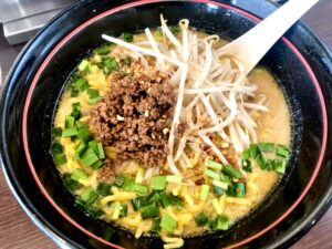 青唐味噌担々麺