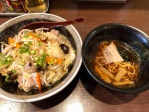 ランチセット(中華丼+ミニラーメン)